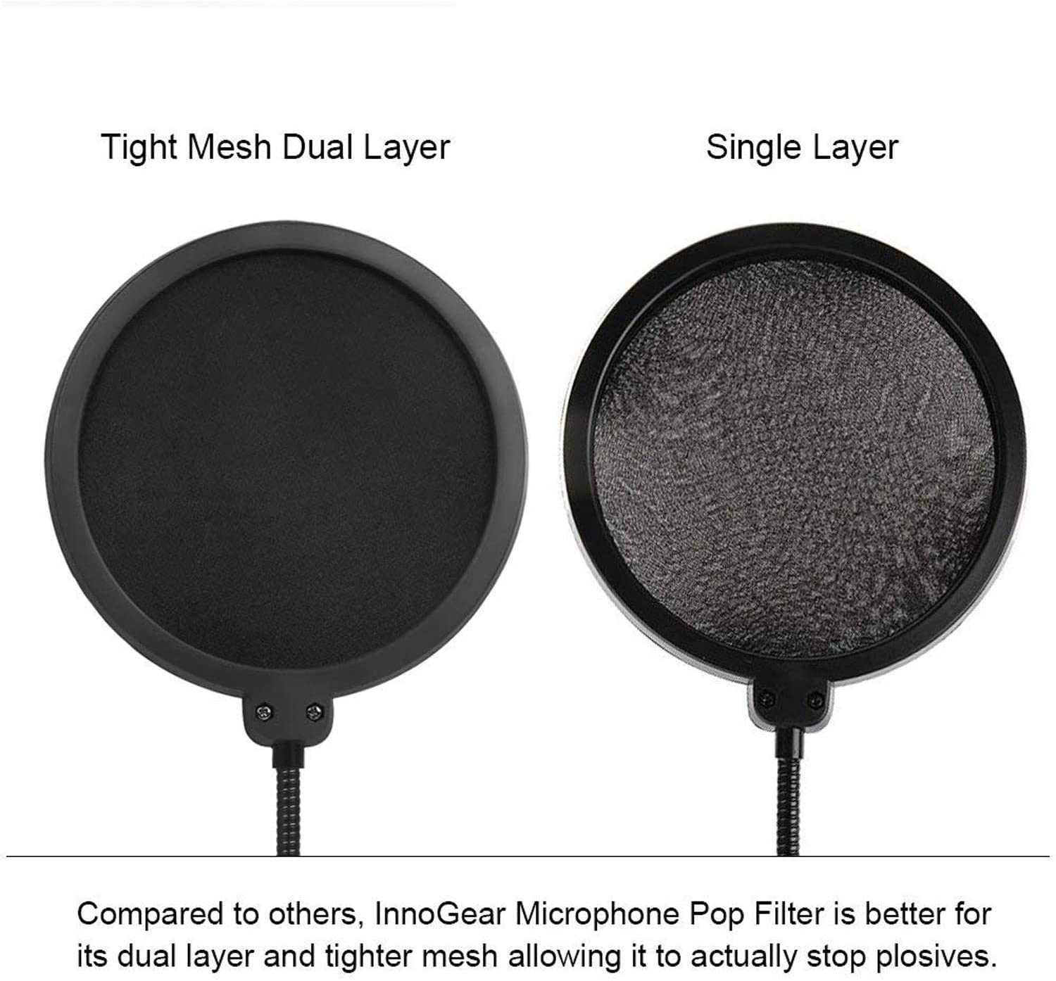 POP Shield Screen For Microphone